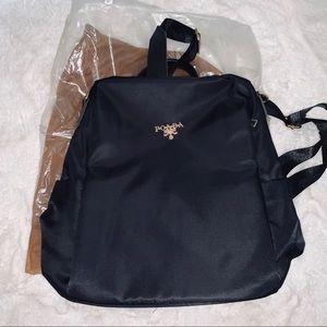 poaba Bags - Black poaba backpack